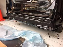 lexus rear bumper toyota innova crysta custom rear bumper by ativus indian autos blog
