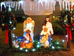 nativity outdoor amazing lighted outdoor nativity all home design ideas