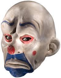 men u0027s batman dark knight joker clown mask white one size