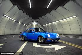 porsche 930 turbo blue magnuswalker911 july 2014