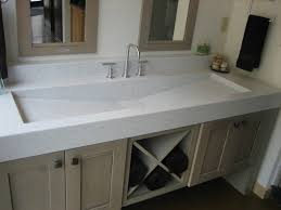 trough bathroom sink awesome double faucet bathroom sink and