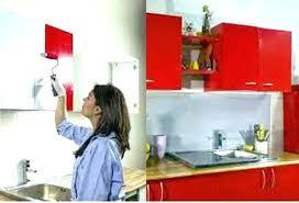 meuble cuisine repeint repeindre des meubles en melamine 1 renovation de cuisine votre