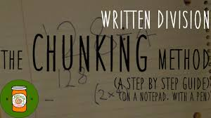 division the chunking method a step by step guide youtube