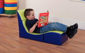 Comfy Library Chairs Folding Reading Seat Soft Seating Childrens Furniture