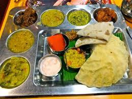 cuisine du nord plateau thaali du nord 13 euros picture of krishna bhavan