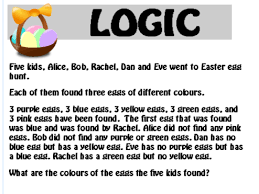 4x easter logic puzzles by teacherofthought teaching resources tes