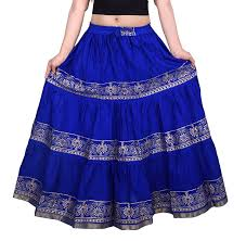 cotton skirt decot paradise women s cotton skirt dl3121 blue free size