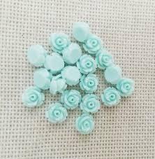 flat back earrings 2018 8mm no resin flowers cabochons cameo flat back earrings