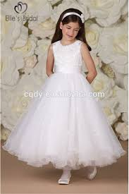 2015 cheap holy communion dresses for girls white first communion