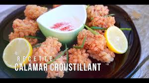 comment cuisiner le calamar calamar croustillant