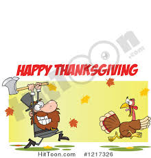 happy thanksgiving text clipart 27