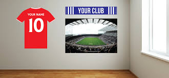 the beautiful game football wall art stickers and decals custom football wall stickers