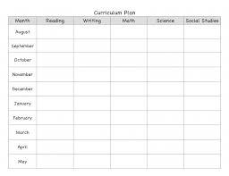 free blank lesson plan templates new calendar template site ks2