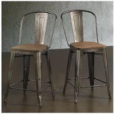 industrial metal bar stools with backs bar stools 24 exhibitc co