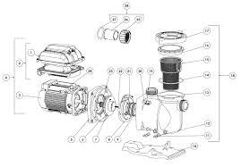 pentair pool light parts pentair whisperflo parts diagram wiring diagram
