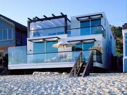 modern beach home plans
