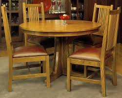 railing wooden mission style dining room chairs combined with