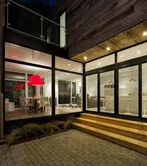 interior minimalist zen like barn with external cladding in