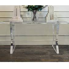 clear plastic console table acrylic console table acrylic console table uk kenfallinartist com