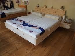 Schlafzimmer Zirbe Massiv Zirbe Bett Massiv Riecht Gut Bed Pinterest Bett