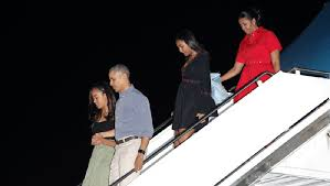 Vacation Obama Obama And Family Arrive In Hawaii For Final Taxpayer Funded Vacation