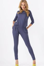 stylish jumpsuits blue neck sleeve stylish jumpsuit rompers