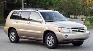 2005 toyota highlander towing capacity 2005 toyota highlander review