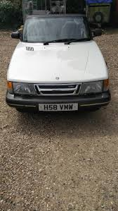 1990 saab 900 cabriolet coupe turbo 16 s for sale classic cars
