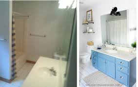 Bathroom Makeovers Ideas - darling coastal bathroom makeover ideas with before and after