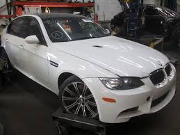 Bmw M3 Interior - rear left interior door trim panel bamboo beige black oem bmw m3