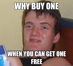 Free Food Meme - one free memes free best of the funny meme