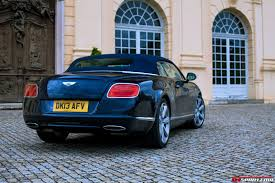 bentley coupe blue road test 2013 bentley continental gtc w12 review