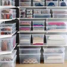 organize wardrobe with closet storage containers u2014 closet ideas