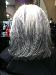 black lowlights in white gray hair white hair with lowlights go gray gorgeous pinterest white