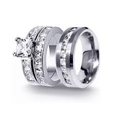 mens cheap wedding bands 15 collection of men and women wedding bands sets