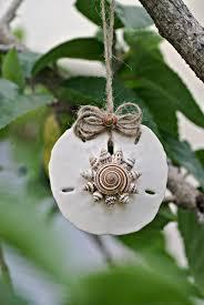 sand dollar ornament natural sundial spiral seashell mini conch