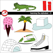 learning the alphabet u2013 the letter i clipart by poppydreamz