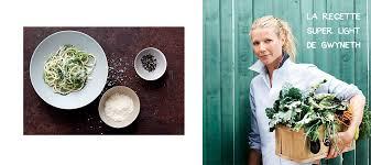 gwyneth paltrow recettes de cuisine cacio e pepe courgettes the light recipe of gwyneth paltrow