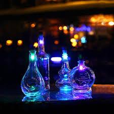 cork shaped rechargeable bottle light lumiparty bottle light cork shaped rechargeable led night lights