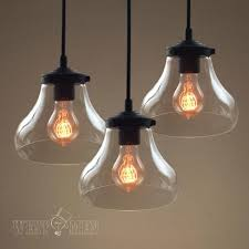 Hanging Lamps For Kitchen Best 25 Clear Glass Pendant Light Ideas On Pinterest Glass