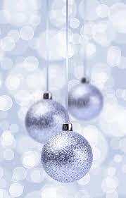 silver balls ornament grunge stock image