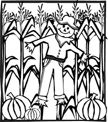 scarecrow coloring pages scarecrow pumpkin patch scarecrow