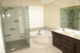 Basic Bathroom Decorating Ideas Colors Bathroom Glass Divider Classic Stainless Steel Hanging Lamp