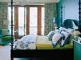 Green And Blue Bedrooms - three ways to update a blue and white interior