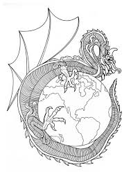 printable chinese dragon coloring pages 1503 chinese dragon