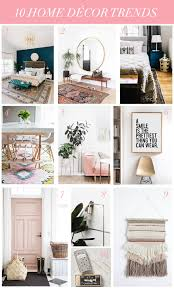 home interior trends 10 home décor trends treats and trends