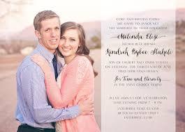 wedding announcement cdotlove design by kristin clove wedding announcement design