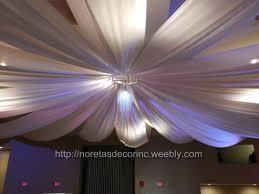 ceiling draping ceiling draping entrance decor noretas decor inc