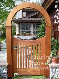 Garden Arch Plans by Best 25 Garden Gates Ideas On Pinterest Garden Gate Yard Gates