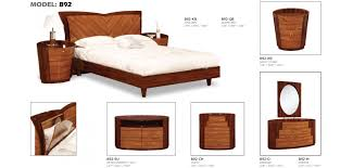 Modern Bedroom Furniture Nyc by New York Two Tone Modern Bedroom Set By Global Furniture